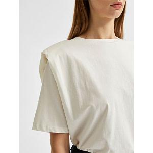 Bio-Baumwoll Schulterpolster T-Shirt