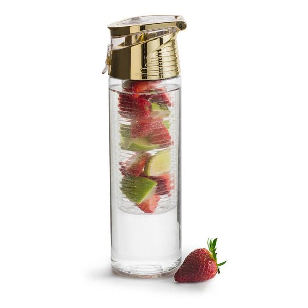 Fresh Bottle mit Einsatz für Früchte gold Gläser/Flaschen Fresh Bottle