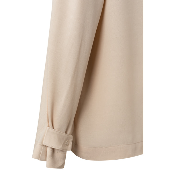 Langarm Bluse mit halber Knopfleiste Blusen Bluse