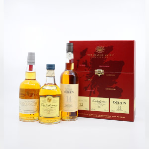 The Classic Malts Collection gentle 3 x 0,2l