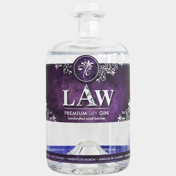 LAW Premium Dry Gin 44% Vol. 0,7l Gin Gin Tonic