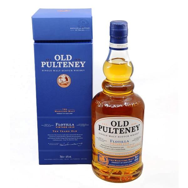 Old Pulteney 10y FLOTILLA 2010 + GB 46% Vol. 0,7l Whisk(e)y Highlands