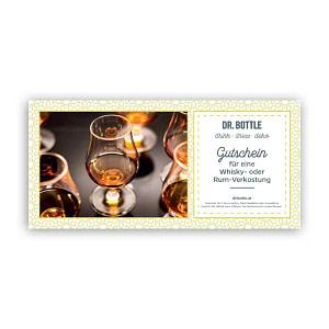 Gutschein Whisky- oder Rum-Tasting