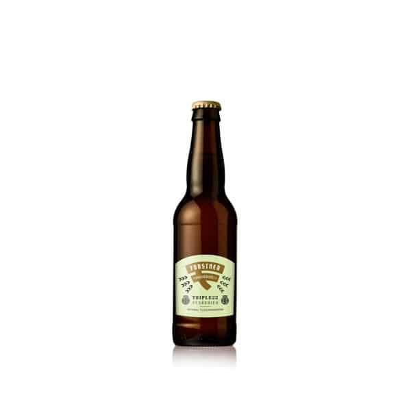 Forstner Triple 22 - 0,33 Bier Abraham