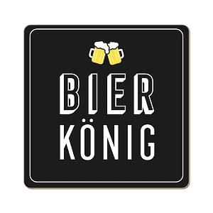 Korkuntersetzer BIERKÖNIG