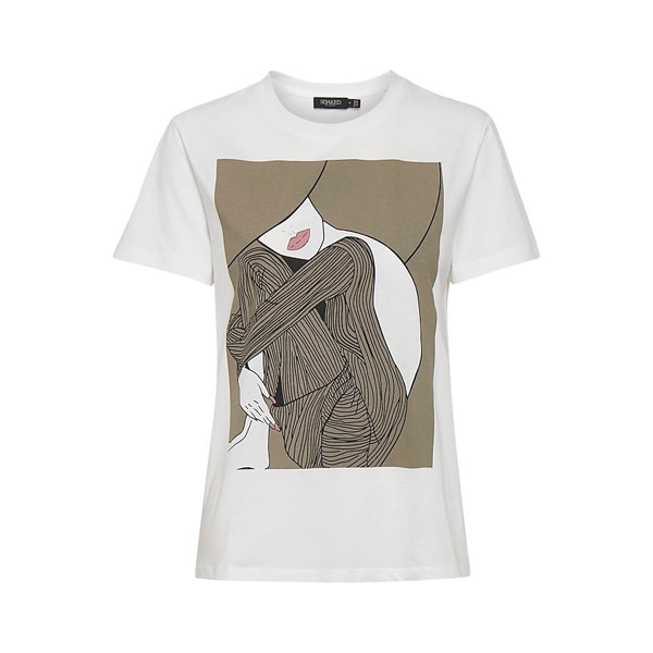 SOAKED in Luxury T-Shirt Dame Für SIE SOAKED in Luxury
