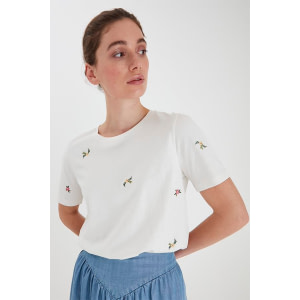 b.young t-Shirt white-mix