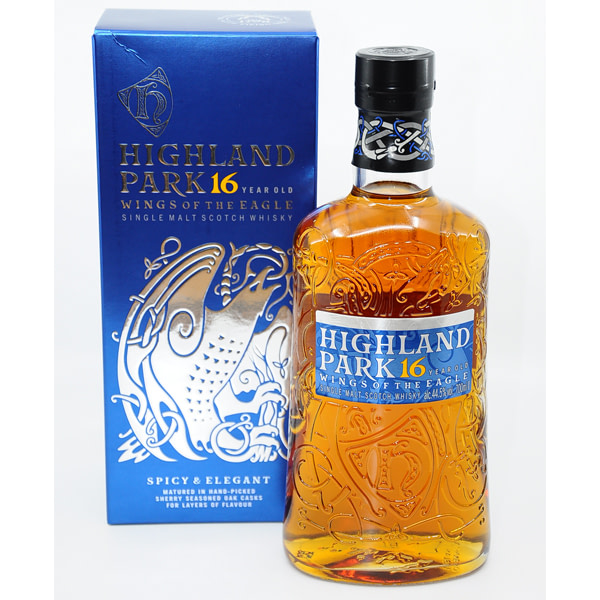 Highland Park 16y WINGS OF THE EAGLE + GB 44,5% Vol. 0,7l Whisk(e)y Highland Park