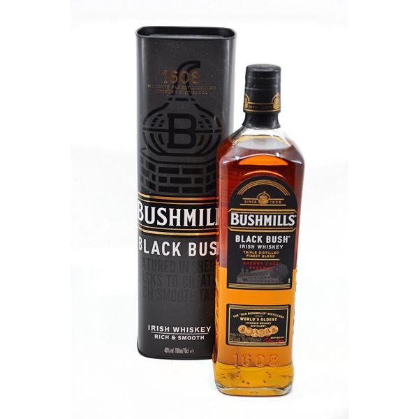 Bushmills BLACK BUSH + GB 40% Vol. 0,7l Whisk(e)y Bushmill
