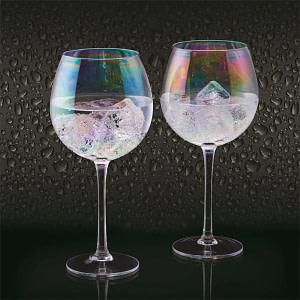 BarCraft Gin Copa Bubble 2er Set