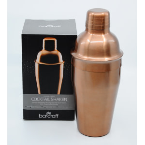Cocktail Shaker Kupfer-Design 0,5l
