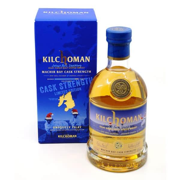Kilchoman MACHIR BAY CASK STRENGTH + GB 58,6% Vol. 0,7l Raritäten Isle of Islay