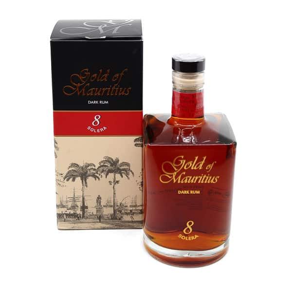 Gold of Mauritius 8y + GB 40% Vol. 0,7l Rum Gold of Mauritius