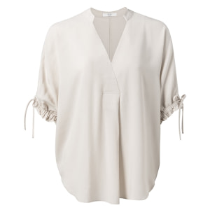 Gewebte Bluse in Loose Fit