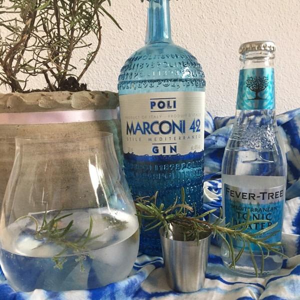 Poli Marconi 42 Gin 42% Vol. 0,7l Gin Gin