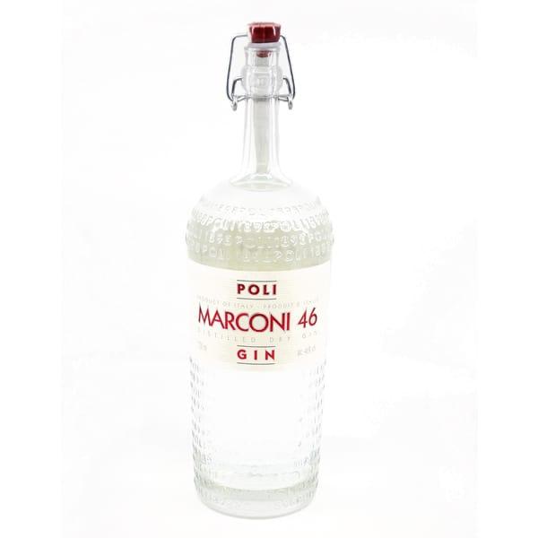 Marconi 46 Gin POLI 46% Vol. 0,7l Gin Gin