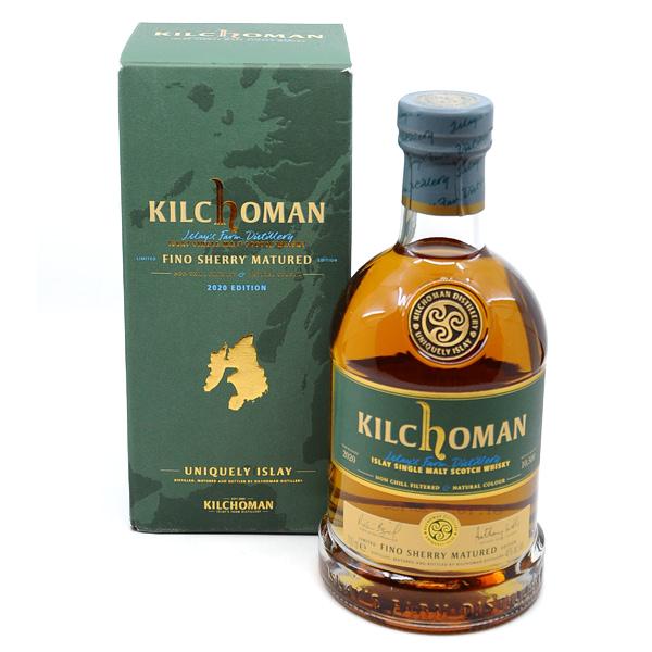 Kilchoman Fino Sherry Limited Edition 2020 + GB 46% Vol. 0,7l Raritäten Isle of Islay