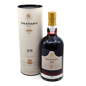 GRAHAM's Tawny Port 20y + GB 20% Vol. 0,75l