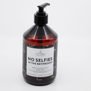 The Gift Label Handsoap NO SELFIES IN THE BATHROOM