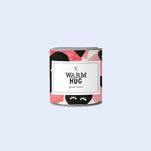 Small Candle Tin Warm Hug + GB