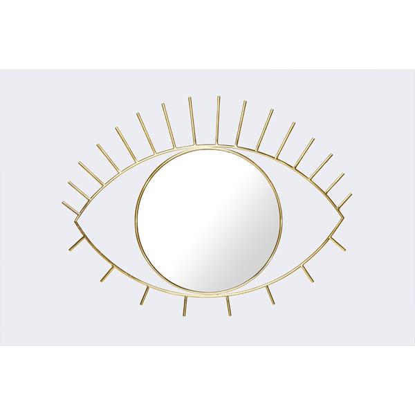 Wandspiegel ZYKLOP Gold Dekoration DOIY Design
