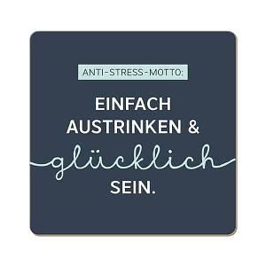 Korkuntersetzer ANTI STRESS