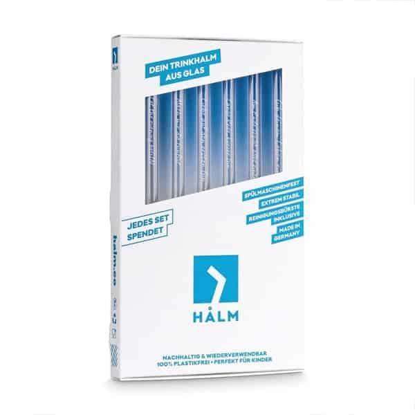 HALM 6 x 20cm Gin-Sprüche Barstuff HALM