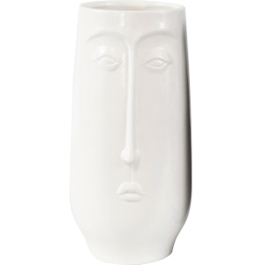 Vase Gesicht White
