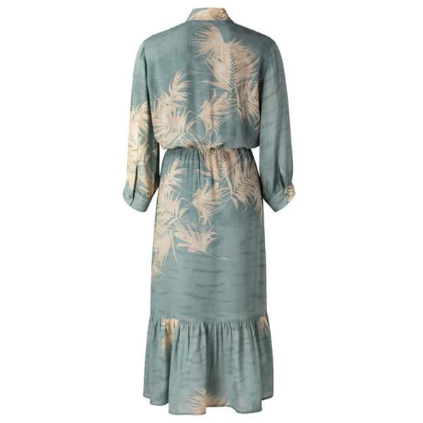YAYA Maxikleid mit Rüschen Kleider Maxi-Kleid