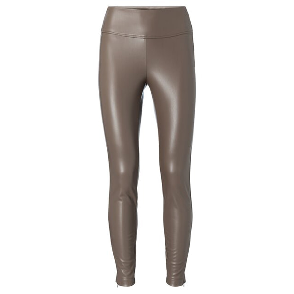 Stretch faux leather legging Hosen Hose