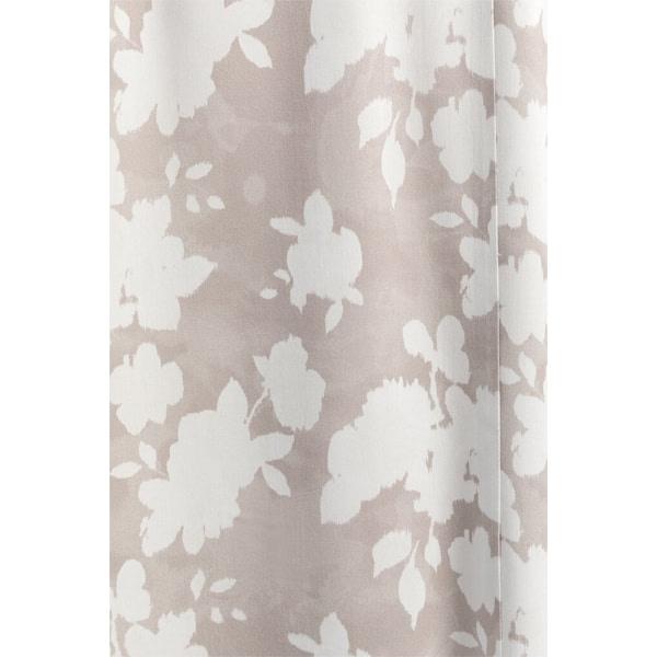 Gewebtes Gürtelkleid mit Blumenmuster Kleider Gürtelkleid