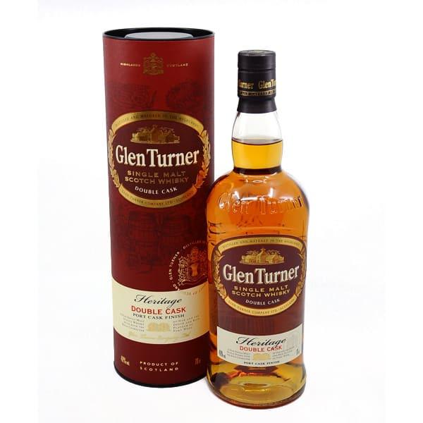 Glen Turner Heritage Double Cask + GB 40% Vol. 0,7l Whisk(e)y Glen Turner