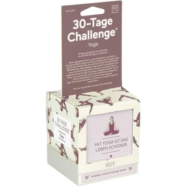 30 Tage-Challenge YOGA Bücher 30 Tage-Challenge
