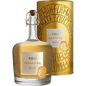 Poli Grappa Cleopatra Moscato Oro + GB 40% Vol. 0,7l