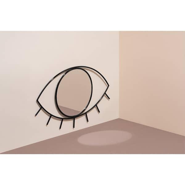 Wandspiegel ZYKLOP Schwarz Dekoration DOIY Design