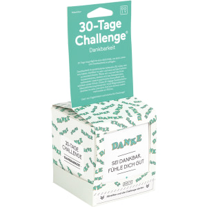 30 Tage Challenge DANKBARKEIT