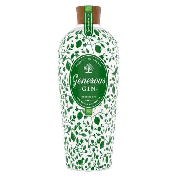GENEROUS Ménage à trois 44% Vol. 3x0,7l Geschenksideen Generous BIO Gin