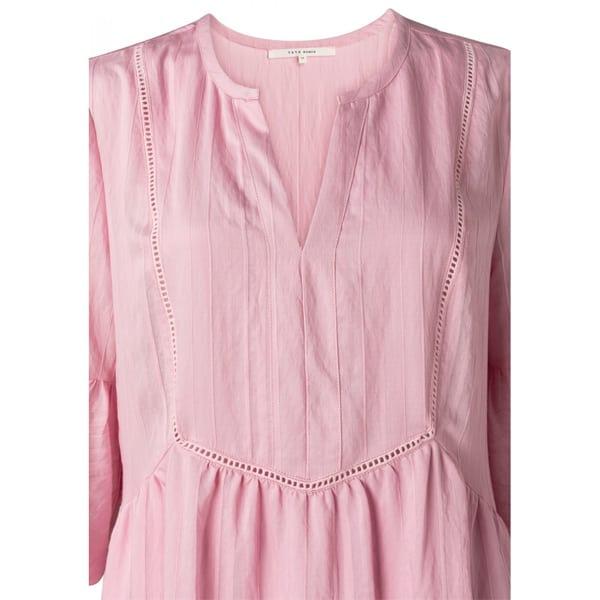 YAYA A-Linien Midikleid mauve Kleider Kleid